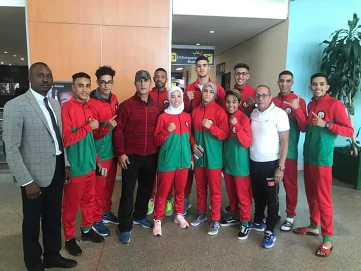 10 ابطال يمثون المغرب في بطولة العالم للكيك بوكسينغ