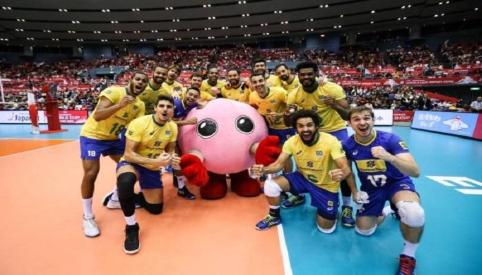 منتخب البرازيل بطل العالم في هذه الرياضة