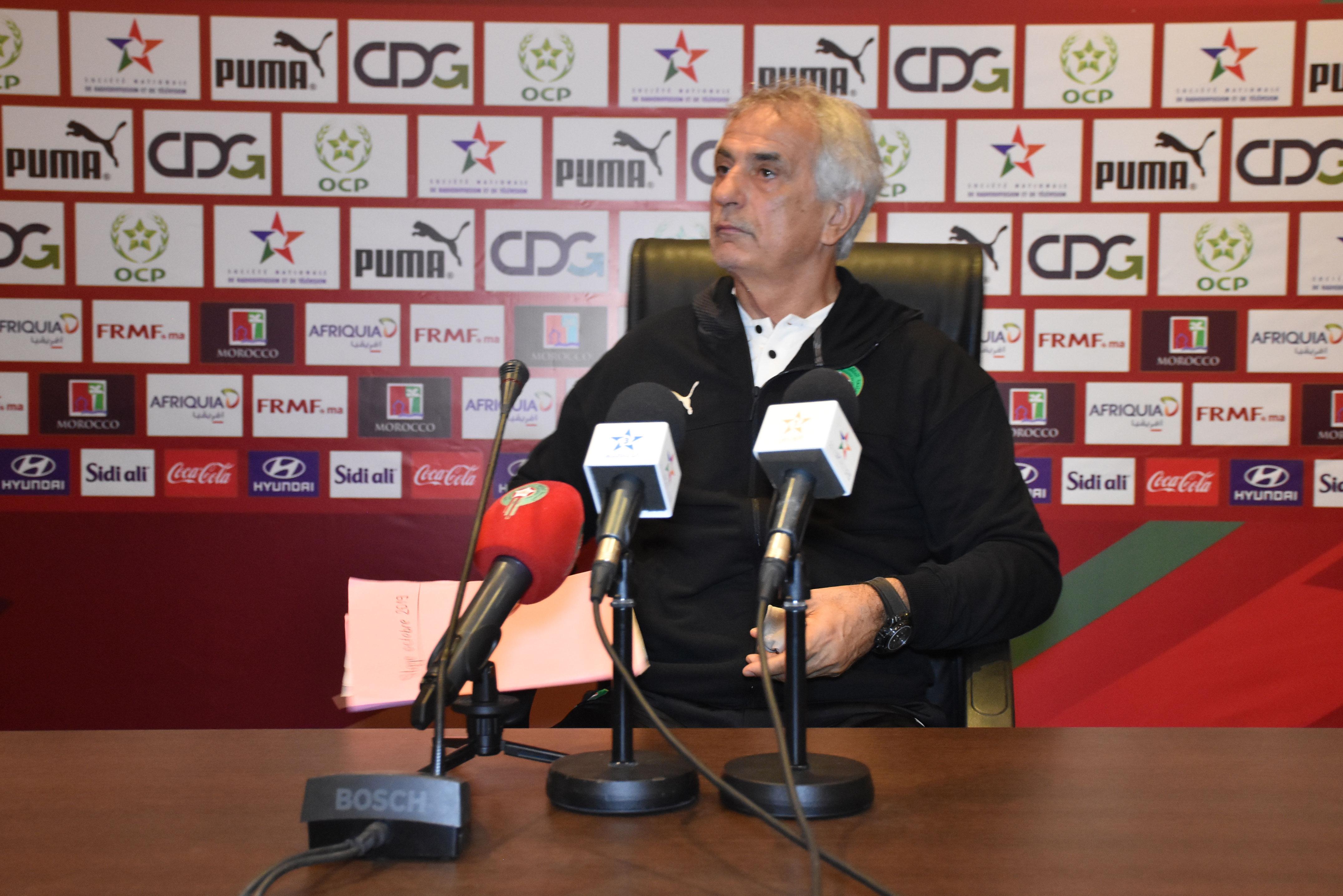 هاليلودزيتش: كنت مهاجما وأعلم ما ينقص المنتخب المغربي