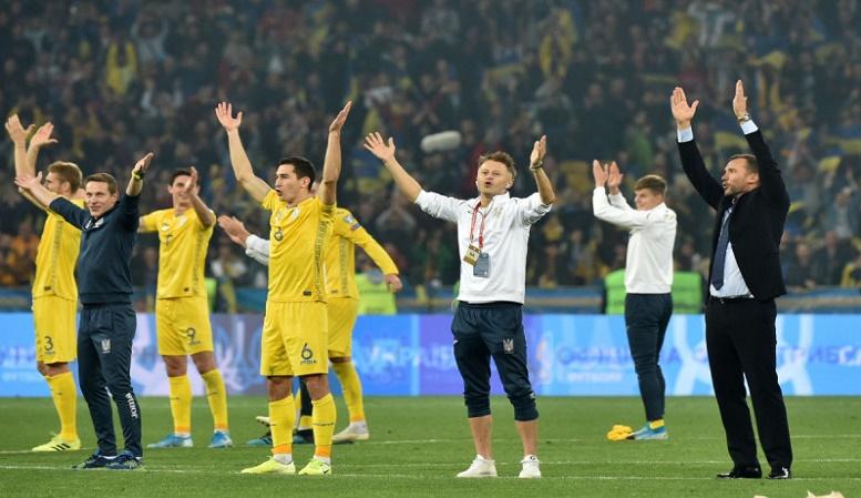 أوكرانيا خامس المتأهلين لنهائيات الأورو 2020