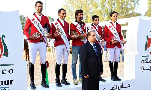 المنتخب المصري يفوز بكأس الأمم للقفز على الحواجز