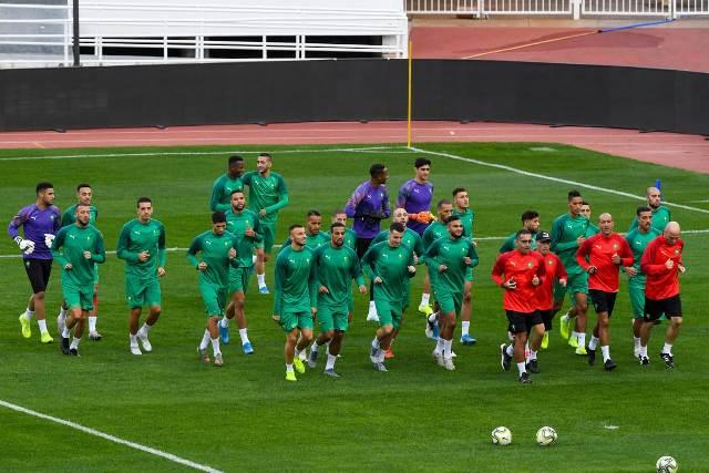 المنتخب الوطني يضع أخر اللمسات قبل لقاء موريتانيا