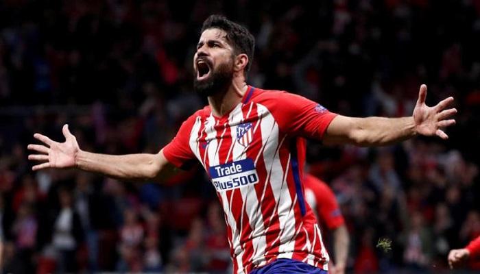 الإصابة تبعد كوستا عن أتلتيكو مدريد لمدة غير محددة