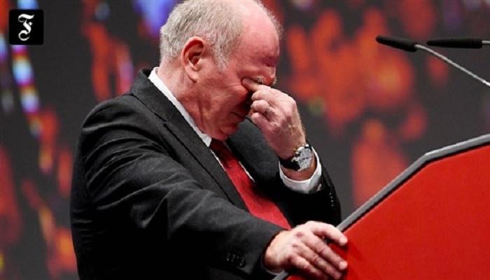 هونيس يودع رئاسة البايرن بالدموع