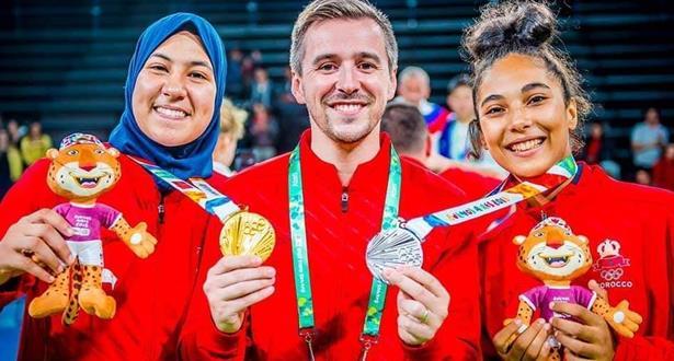 تكريم بطلة التايكواندو فاطمة الزهراء أبو فارس في دبي
