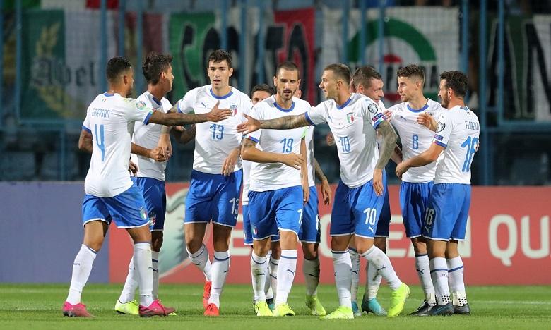 إيطاليا يخوض آخر مباراة في تصفيات الأورو 2020