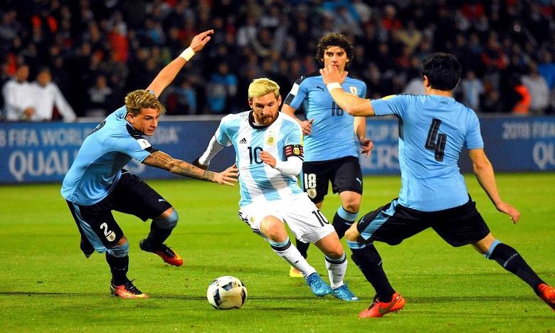 الأرجنتين يقابل الأوروغواي في ثاني مباراة ودية