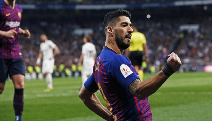 سواريز: فخور بأرقامي مع برشلونة وأتمنى البقاء الطويل