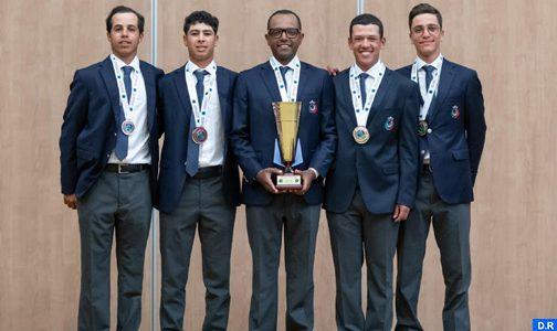 المغرب يفوز بالبطولة العربية للغولف في دورتها ال39 على مستوى الفرق.