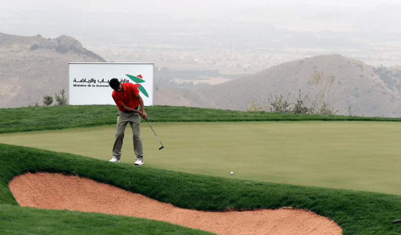 انطلاق النسخة الـ39 من البطولة العربية للغولف بمراكش