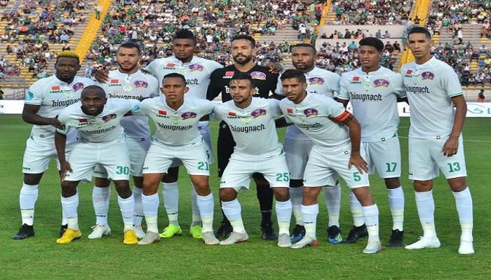 الرجاء يتأهل إلى ربع نهائي دوري الأبطال