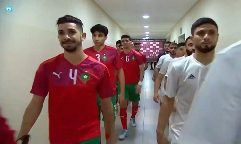 المنتخب المغربي لكرة القدم داخل القاعة يفوز على ليبيا
