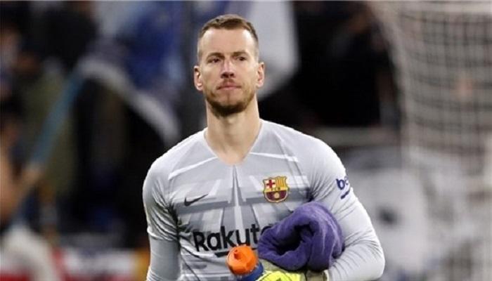 برشلونة يخسر حارسه للإصابة