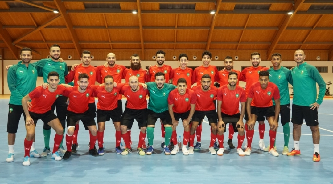 الإعلان عن اللائحة النهائية للمنتخب الوطني لكرة القدم داخل القاعة