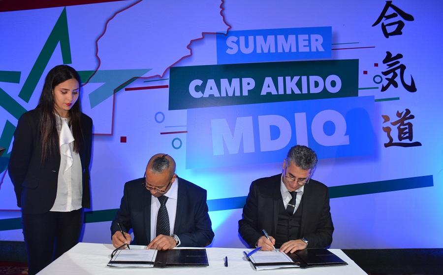 التوقيع رسميا على احتضان المضيق لملتقى الصداقة العالمي للآيكيدو