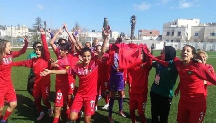 المنتخب النسوي بطل شمال إفريقيا