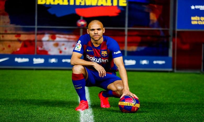 برايثوايت: حققت حلم حياتي باللعب لبرشلونة