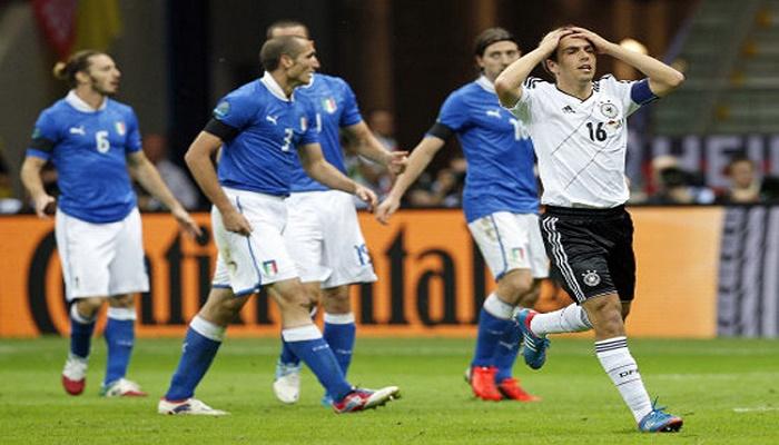 مباراة ألمانيا وإيطاليا تخطف الأضواء من الفيروس