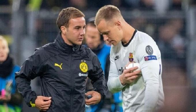 شتيغن: غوتزه بإمكانه النجاح في الدوري الإسباني