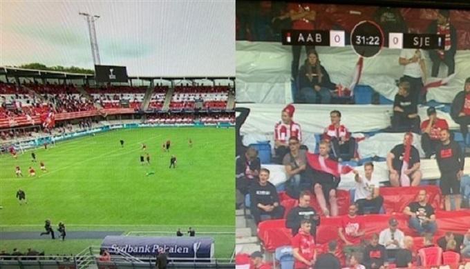 نهائي كأس الدنمارك يتوقف لعدم احترام مسافات التباعد