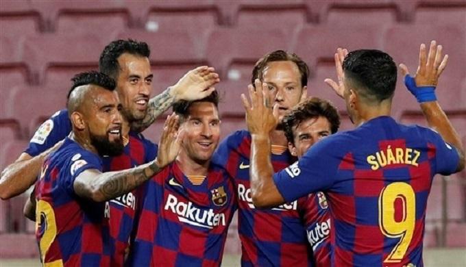"""برشلونة يرفع شعار """"ممنوع الخسارة"""" ضد فياريال"""