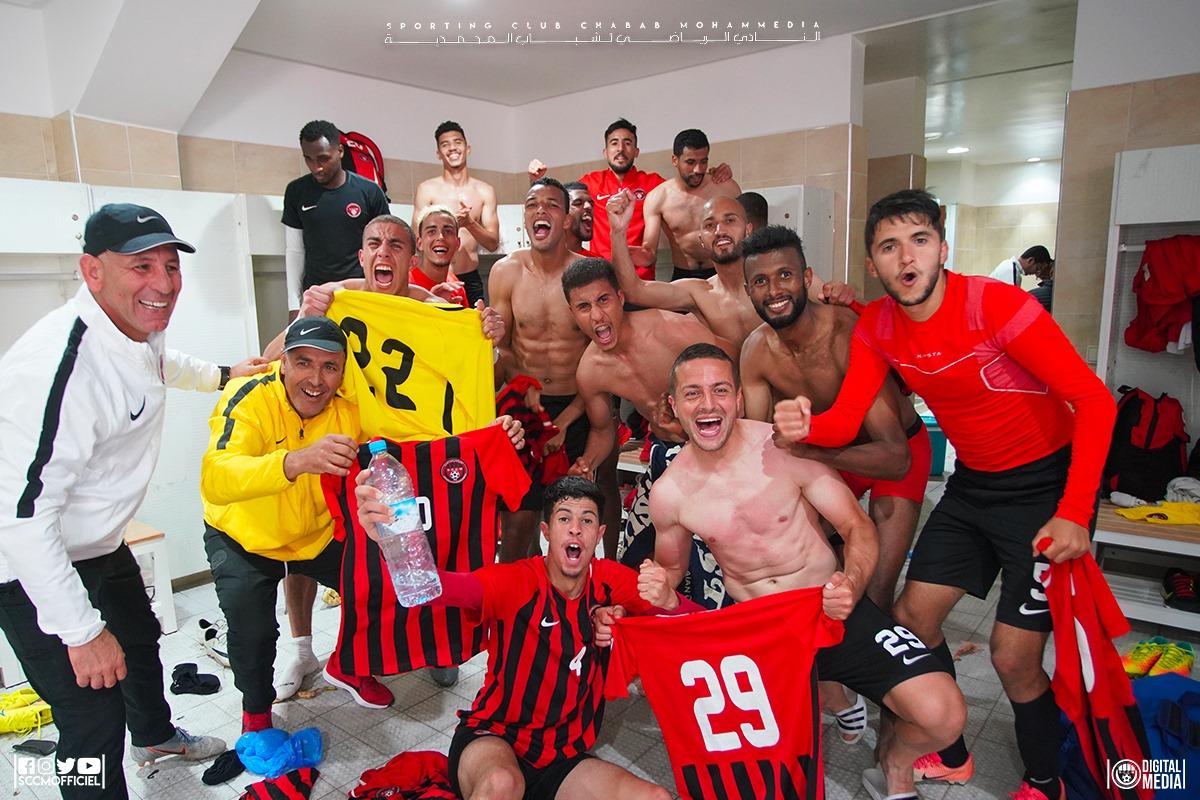"""نتائج كشف """"كورونا"""" للاعبي شباب المحمدية جاءت سلبية"""