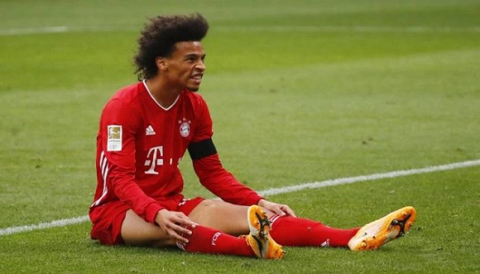 بايرن يخسر ساني في السوبر الألماني
