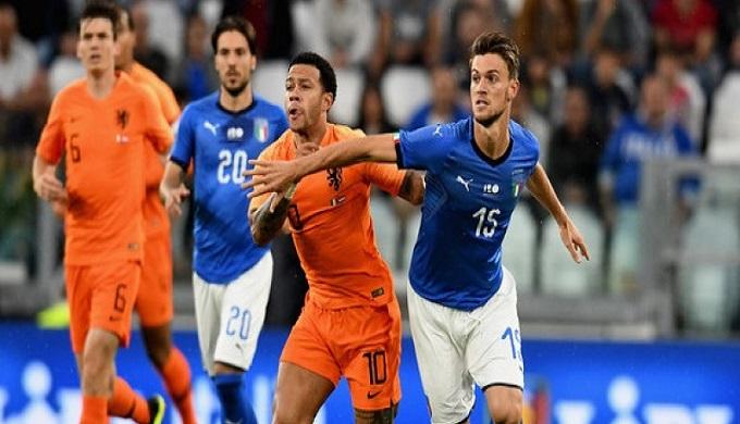 إيطاليا تستضيف هولندا في بيرغامو
