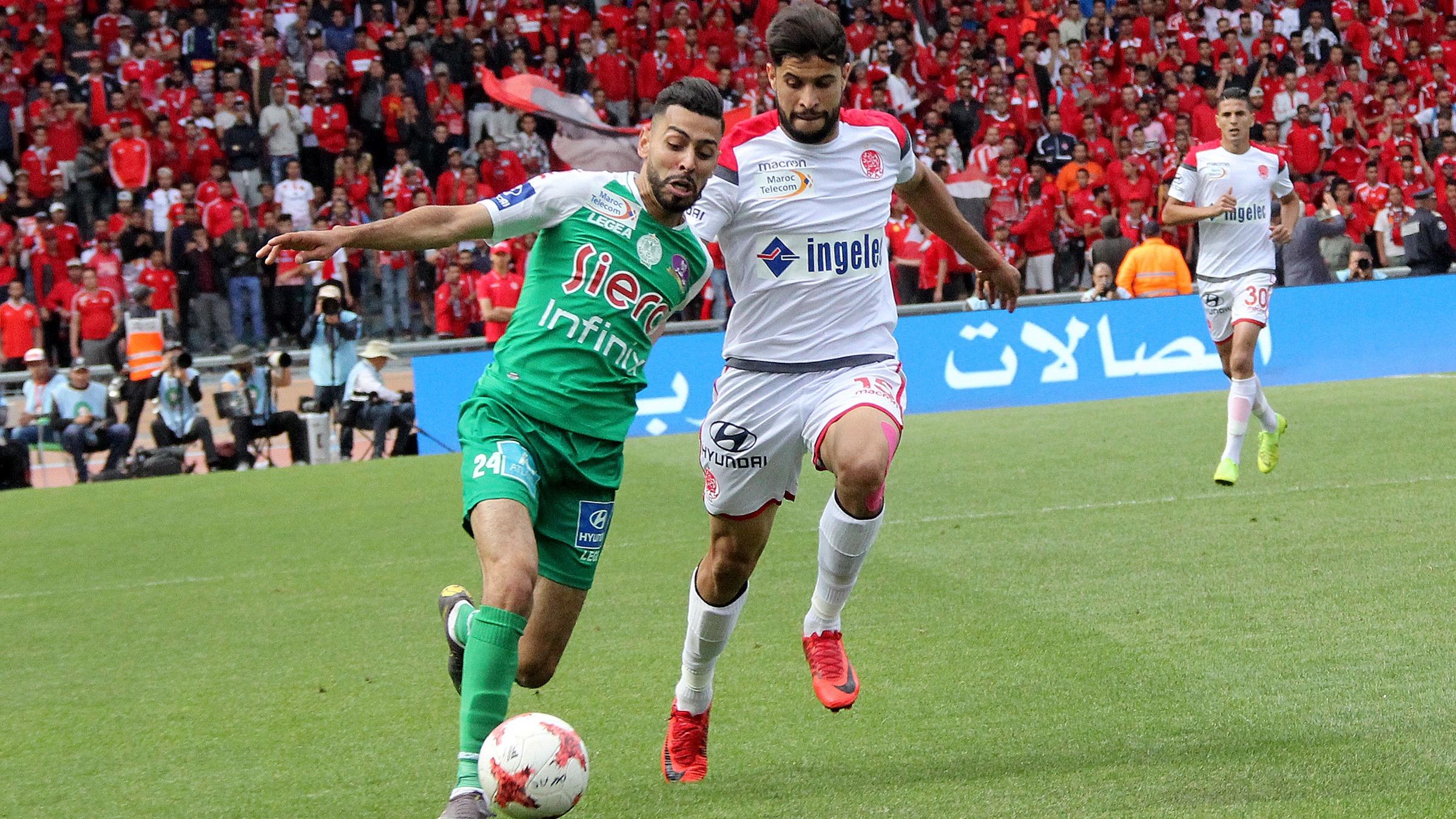 مراقبون يعتبرون الديربي رقم 128 صورة سيئة عن الكرة المغربية
