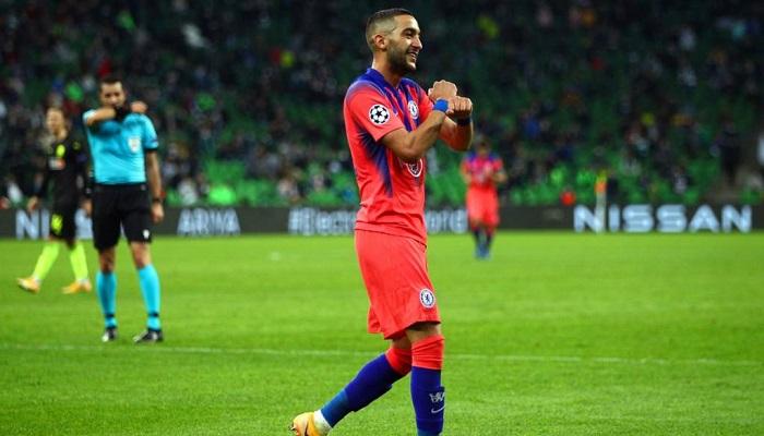 زياش يحرز أول هدف بقميص تشيلسي
