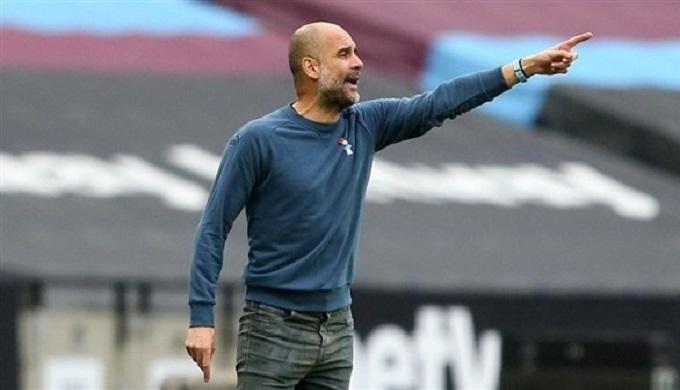 غوارديولا يعترف بمعاناة السيتي في الدوري الإنجليزي هذا الموسم