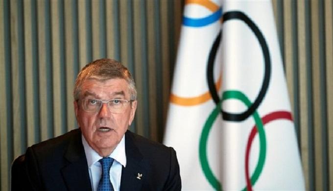 باخ يرفض استبعاد أي دولة من أولمبياد طوكيو