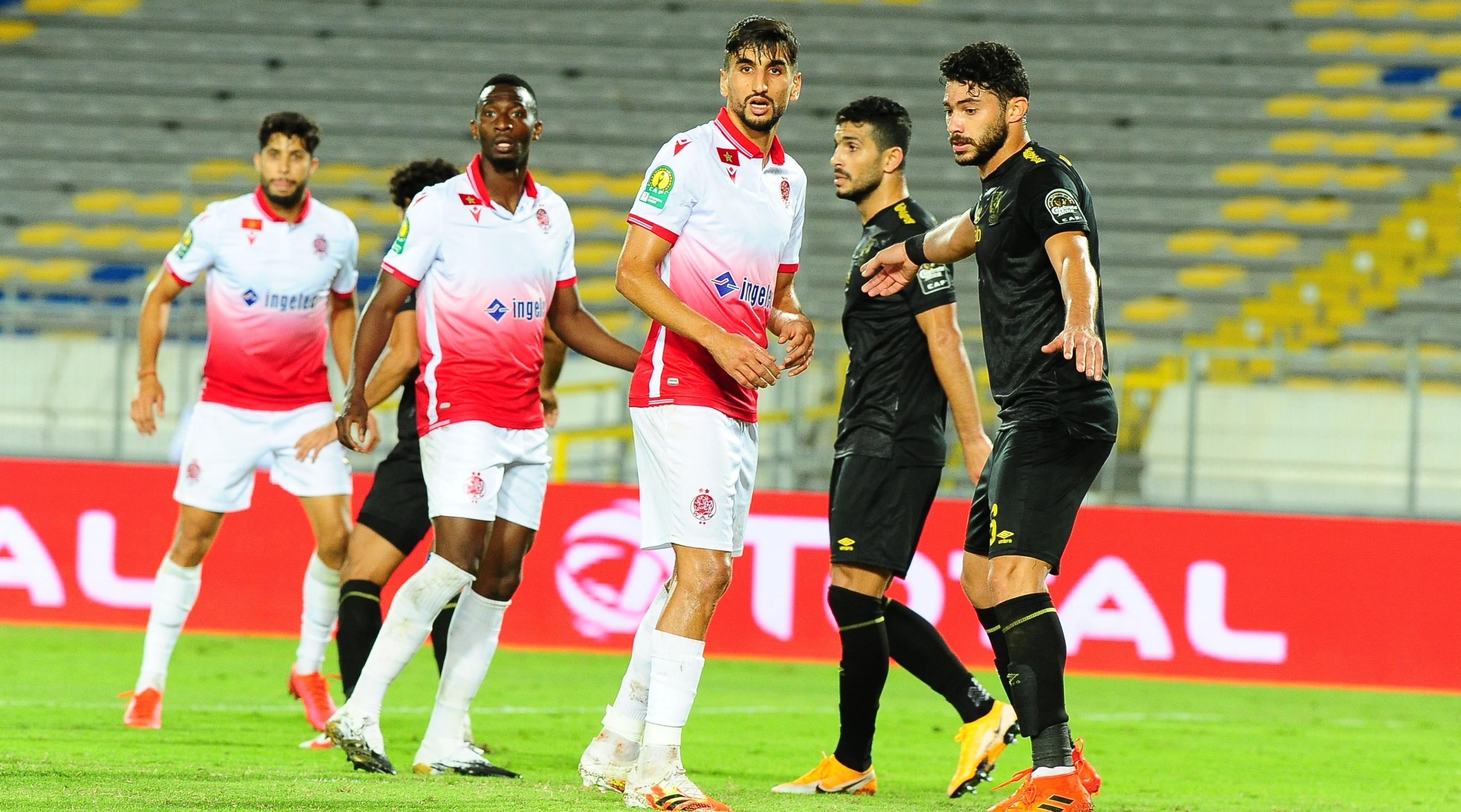 الوداد يحل بالقاهرة بـ 19 لاعبا