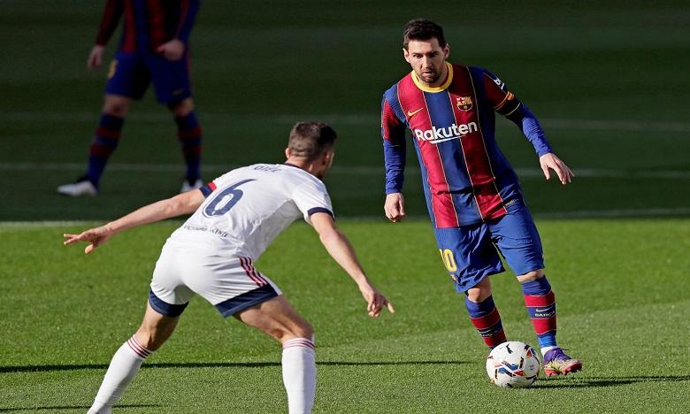 برشلونة يستعيد توازنه ويقسو على أوساسونا