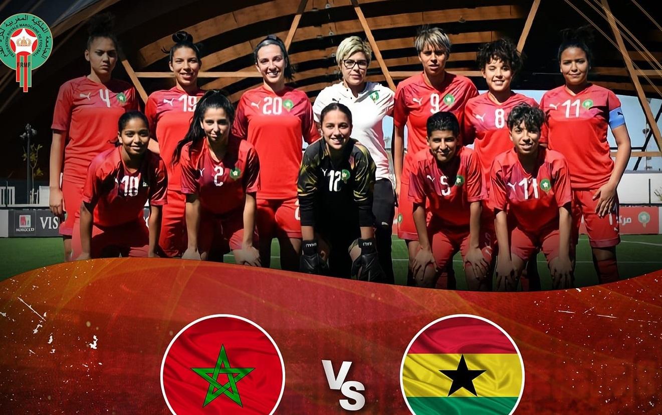24 لاعبة في منتخب السيدات لمواجهة غانا وديا