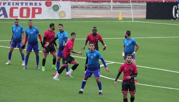 المغرب التطواني يفوز لثاني مرة على الوداد السرغيني