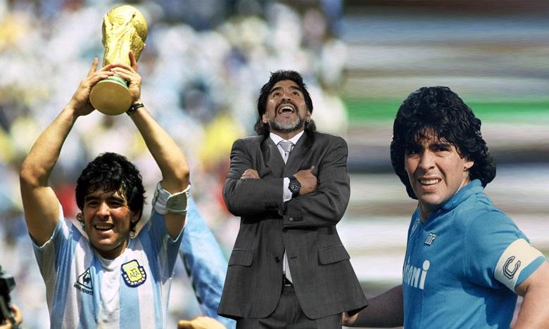 عاجل...وفاة نجم كرة القدم الأسطورة مارادونا