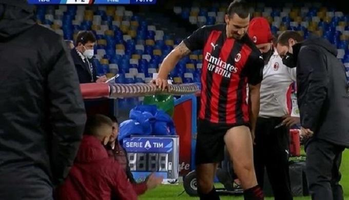 إصابة إبراهيموفيتش ضربة موجعة لميلان