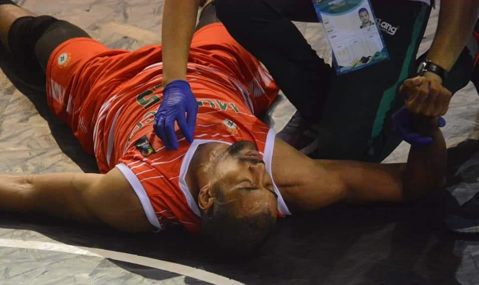 الإصابات تغيب ثلاثة لاعبين عن منتخب السلة أمام مصر