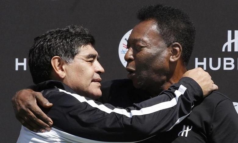 نجوم كرة القدم ينعون مارادونا