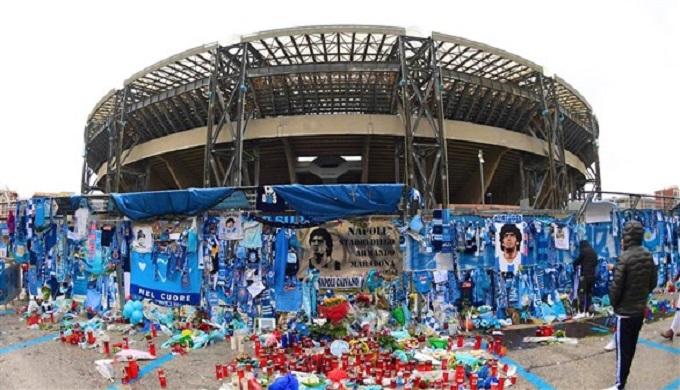 إطلاق اسم مارادونا على ملعب نابولي