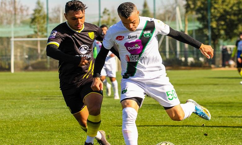 المغرب الفاسي يفوز في مباراة إعدادية على يوسفية برشيد