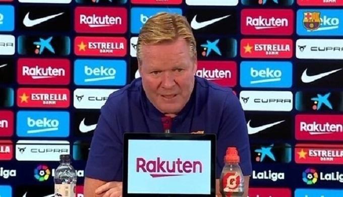 كومان يستبعد تعاقد برشلونة لاعبين في الميركاطو الشتوي