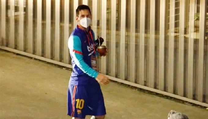 ميسي يغيب عن التدريب الجماعي لبرشلونة