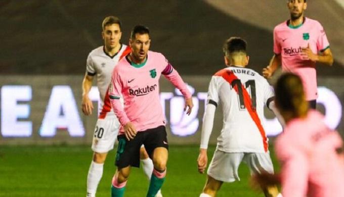 ميسي العائد يقود البارصا إلى ربع نهائي كأس ملك إسبانيا