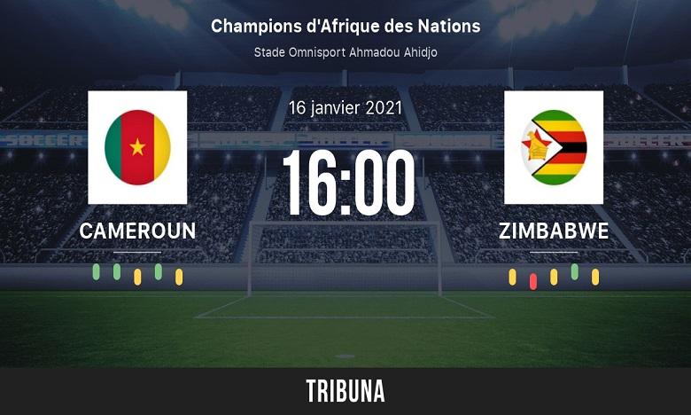 منتخبا الكاميرون وزيمبابوي يقصان شريط انطلاق الشان 21