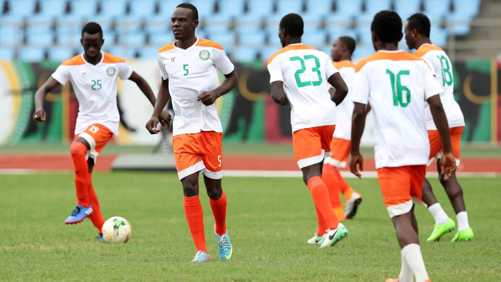 تصرف راقي للاعبي منتخب النيجر