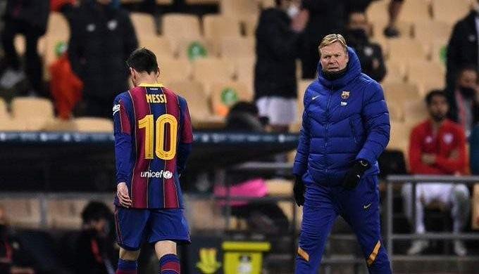 رفض استئناف برشلونة بشأن ايقاف ميسي