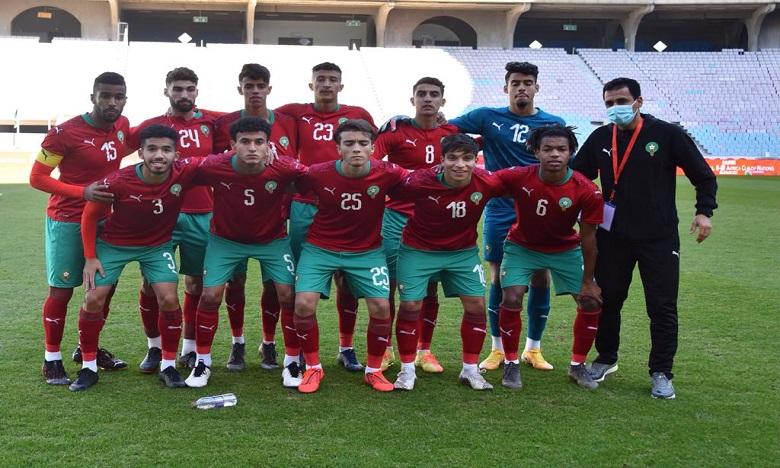 المنتخب المغربي لأقل من 20 في المجموعة الثالثة