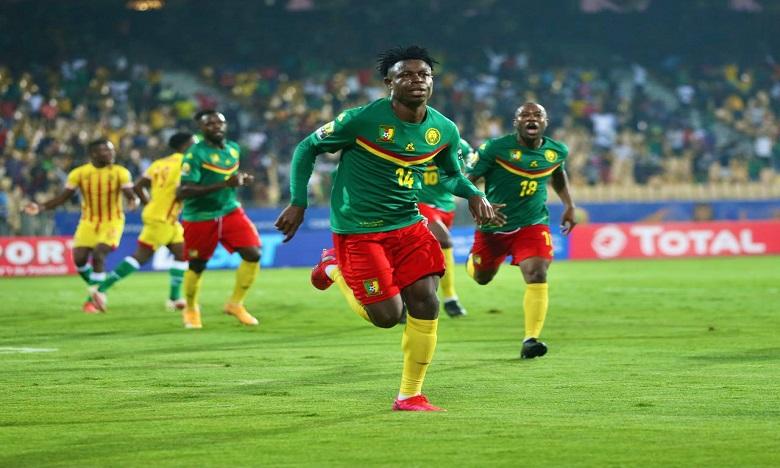 المنتخب الكاميروني يفوز في مباراة افتتاح الشان